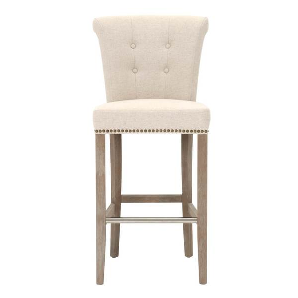 Grey Manor Layla Jute Fabric 2-piece Dining Chair Set