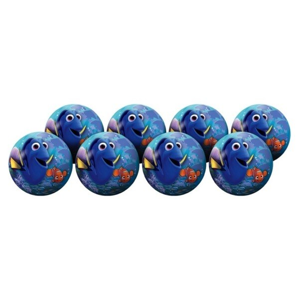 Hedstrom Finding Dory Multicolor 4-inch Inflatable Ball Party Pack (Pack of 6) 22421769