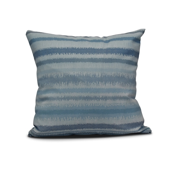 16-inch Raya De Agua Stripe Print Outdoor Pillow 22422356