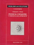 Problems & Solutions to Accompany McQuarrie - Simon Physical Chemistry: A Molecular Approach (Paperback)