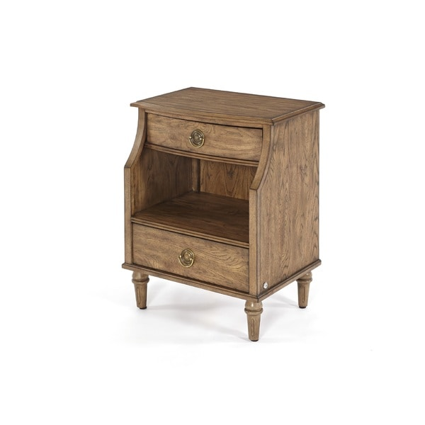 Standing Room Only Distressed 2-drawer Nightstand 22429905