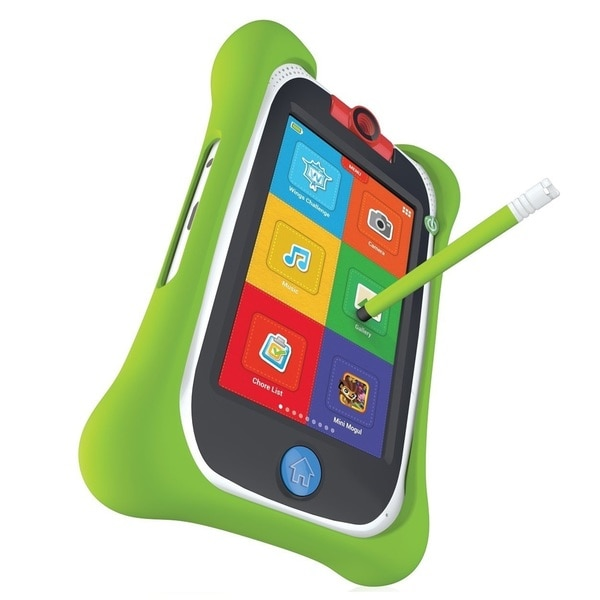 nabi Jr. Bumper with Stylus (Green)