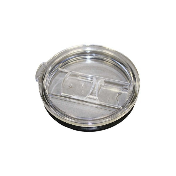 Clear Plastic 30-ounce Tumbler Lid with Slider for Yeti, Rtic, and Other 30-ounce Tumblers 22435336