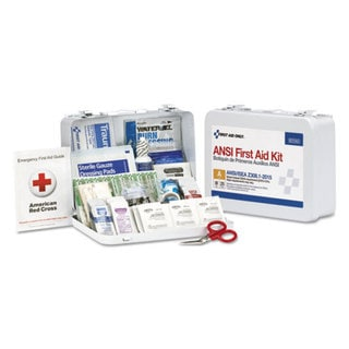 First Aid Only ANSI Class A 25 Person Bulk First Aid Kit for 25 People, 89 Pieces