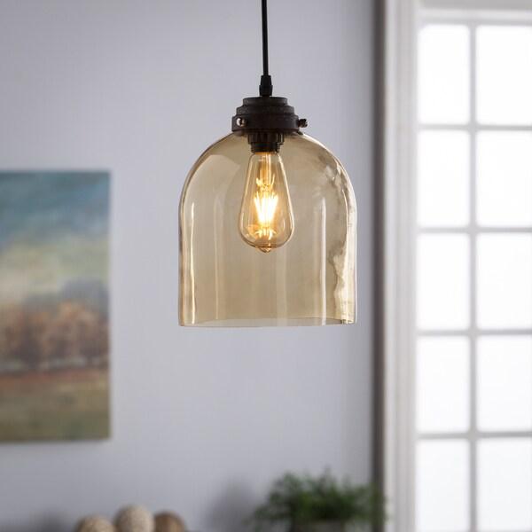 Harper Blvd Plancius Colored Glass Mini Pendant Lamp - Amber 22436316
