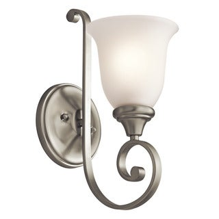 Gracewood Hollow Feraoun Collection 1-light Brushed Nickel Wall Sconce