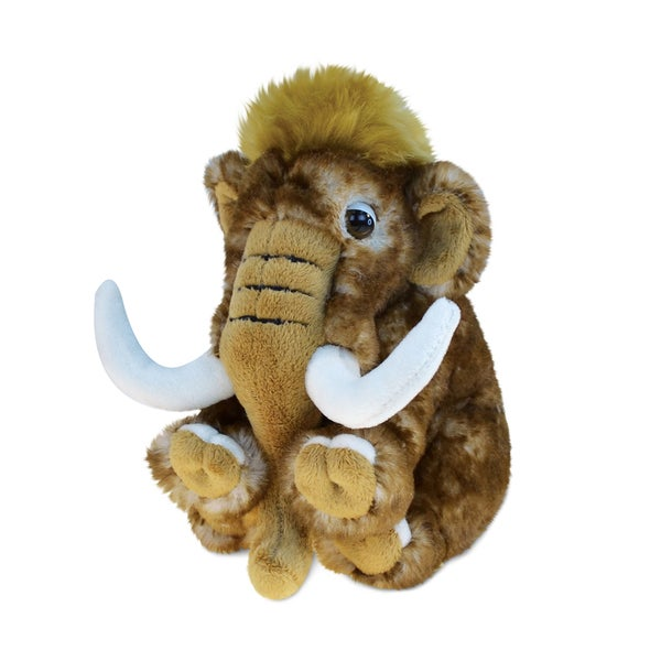 Puzzled Inc. Super Soft Plush Small Wild Mammoth Stuffed Toy