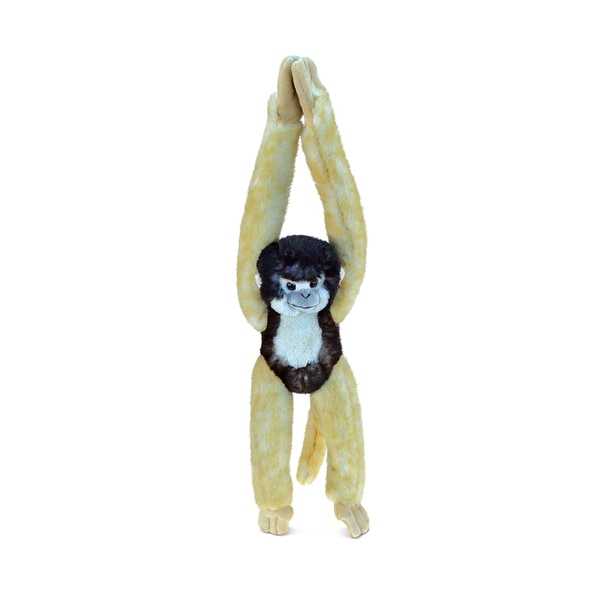 Puzzled Long Arm Hanging Squirrel Monkey Plush Animal 22437788
