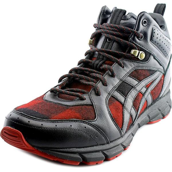 Onitsuka Tiger by Asics Men's Harandia MT Red Leather Athletic Shoes