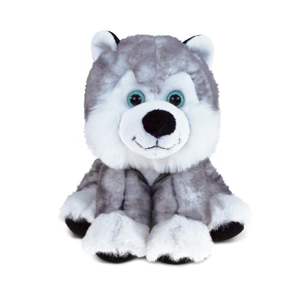 Puzzled 'Floppy Husky' Stuffed Plush Cuddler 22437840