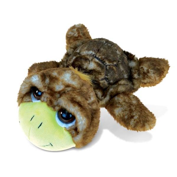 Brown Sea Turtle Large Super Soft Plush