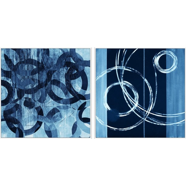 Linked Rings Diptych