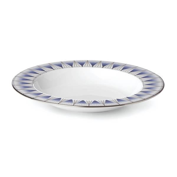 Lenox Geodesia Blue Pasta Bowl
