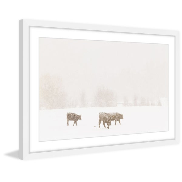 Marmont Hill - 'In Search of Food' Framed Painting Print