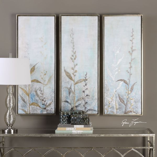 Uttermost Shining Florals Framed Art (Set of 3) 22474376