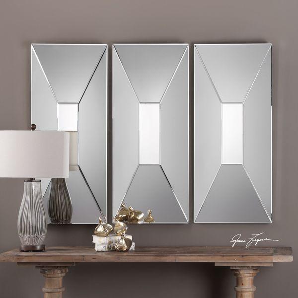 Uttermost Vilaine Modern Geometric Mirror 22476961