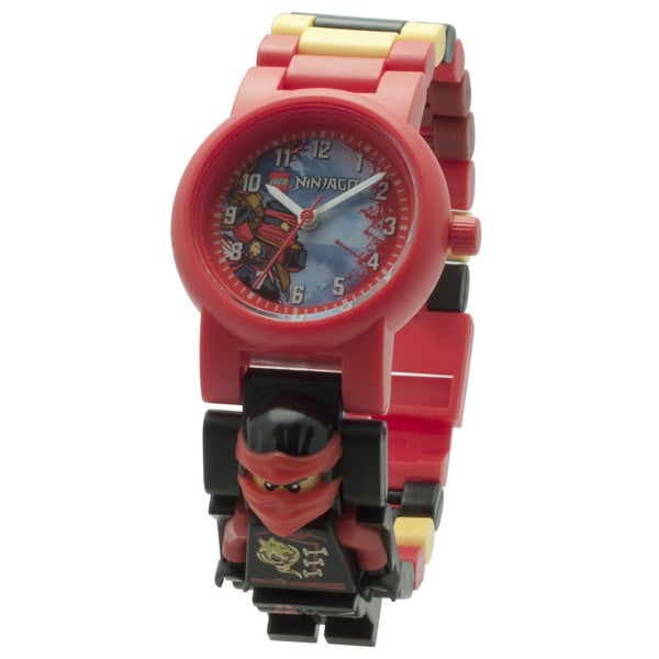 LEGO Ninjago Sky Pirates 'Kai' Minifigure Link Watch