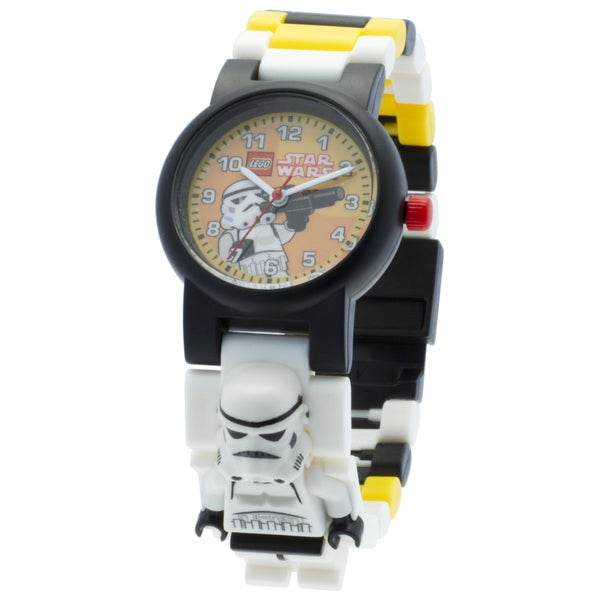 LEGO Star Wars Stormtrooper Kid's Interchangeable Links Minifigure Watch