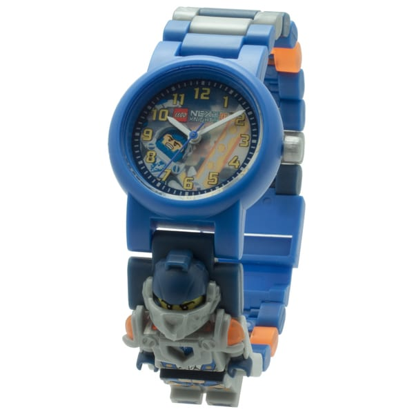 LEGO Nexo Knights Clay Kid's Interchangeable Links Minifigure Watch