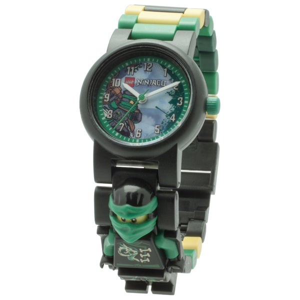 LEGO Ninjago Sky Pirates 'Lloyd' Minifigure Link Watch
