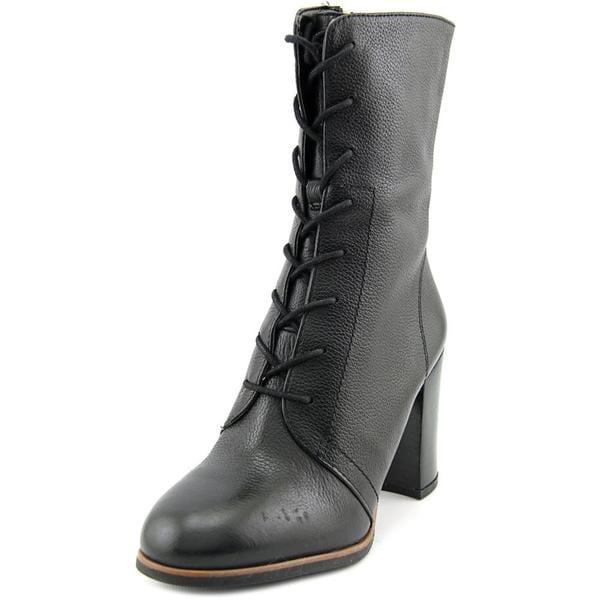 Franco Sarto Women's Saratoga Black Leather Boots