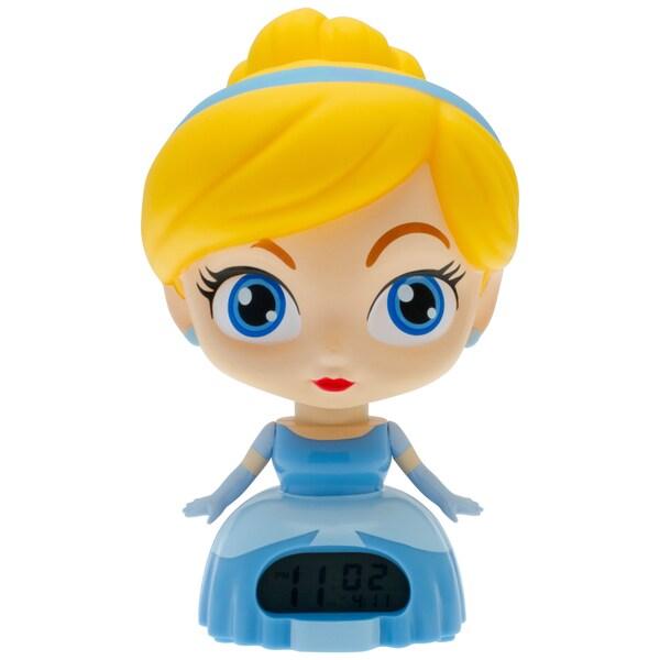 BulbBotz Disney Princess 'Cinderella' 7.5 in Light-up Alarm Clock