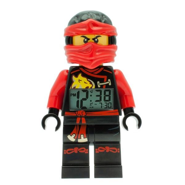 LEGO Ninjago Sky Pirates 'Kai' Light-up Minifigure Alarm Clock 22510407