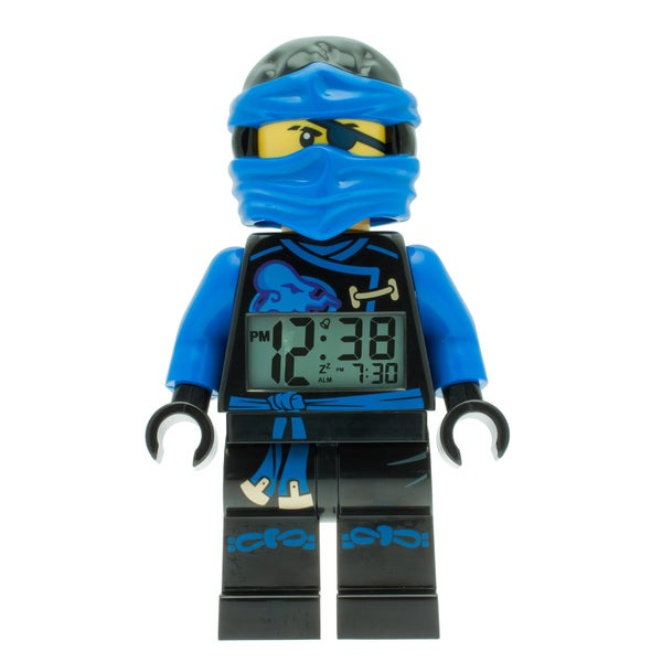 LEGO Ninjago Jay Sky Pirates Kid's Moveable Minifigure Alarm Clock