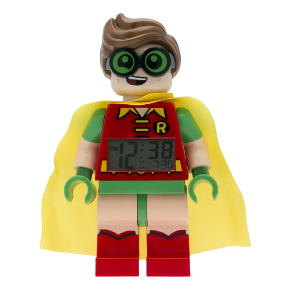 LEGO Batman Movie 'Robin' Light-up Minifigure Alarm Clock 22510666