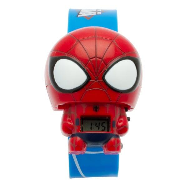BulbBotz Marvel Kid's 'Iron Man' Light-up Watch 22510883