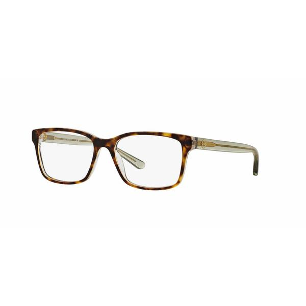 Tory Burch Womens TY2064 1561 Havana Plastic Square Eyeglasses 22549982