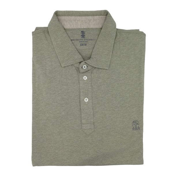 Brunello Cucinelli Grey Cotton T-Shirt 3XL
