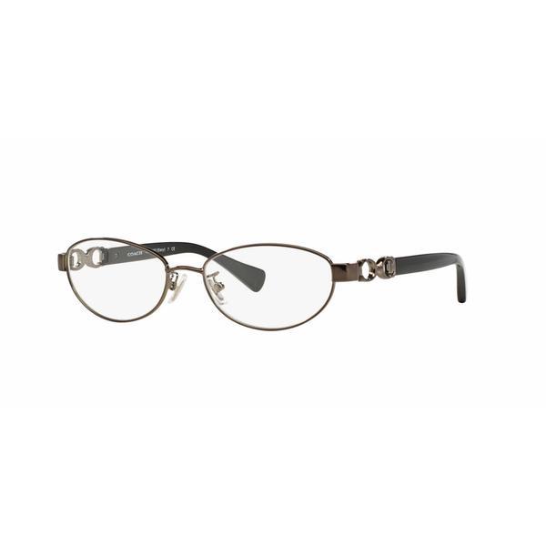 Coach Womens HC5062 STACY 9017 Silver Metal Oval Eyeglasses