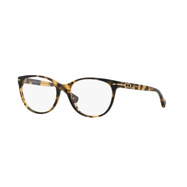 Coach Womens HC6056 BETTY 5093 Havana Plastic Phantos Eyeglasses