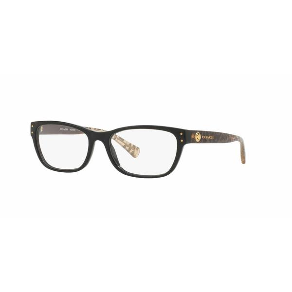 Coach Womens HC6082F 5353 Plastic Rectangle Eyeglasses
