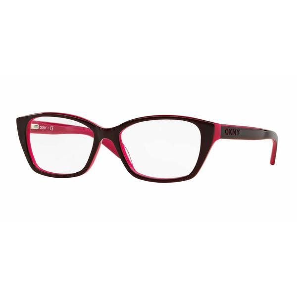 DKNY Womens DY4668 3686 Bordeaux Plastic Cat Eye Eyeglasses