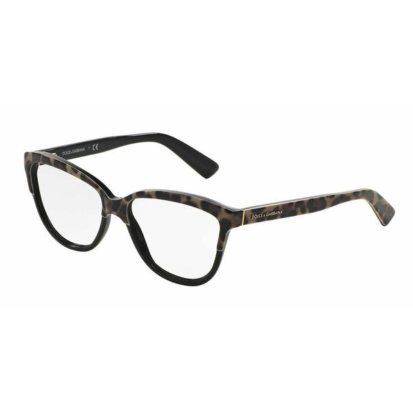 Dolce & Gabbana Womens DG3229 1995 Multi Plastic Cat Eye Eyeglasses