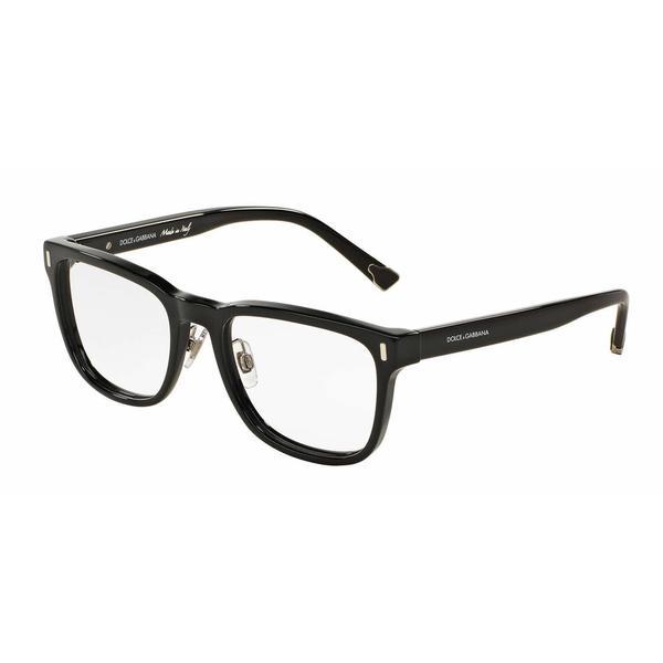 Dolce & Gabbana Mens DG3241 501 Black Plastic Square Eyeglasses
