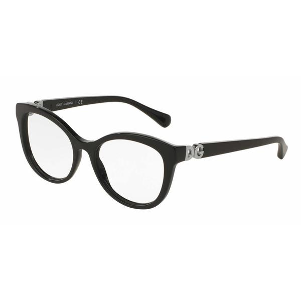 Dolce & Gabbana Womens DG3250F 501 Plastic Cat Eye Eyeglasses