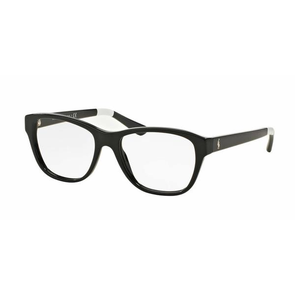 Polo Womens PH2148 5572 Black Plastic Square Eyeglasses