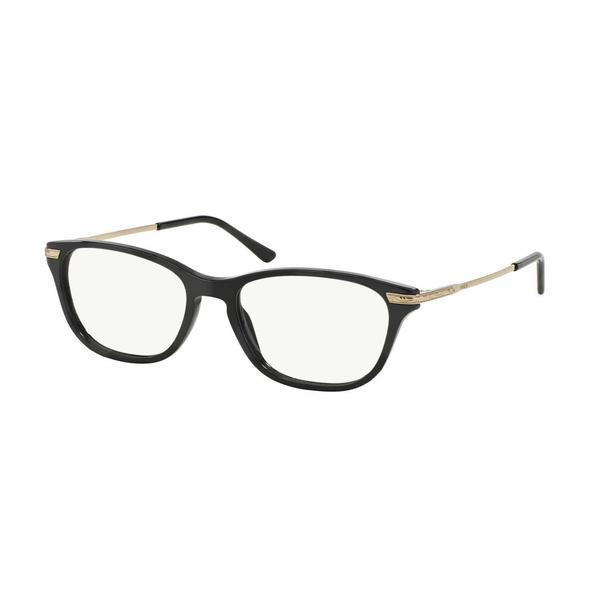 Polo Womens PH2135 5001 Black Plastic Cat Eye Eyeglasses