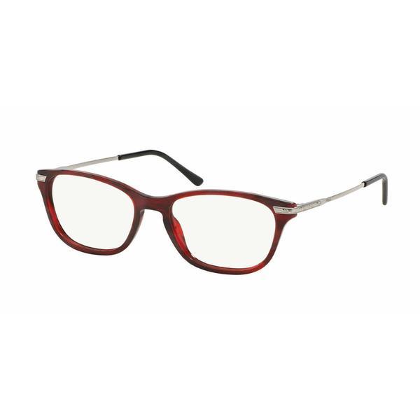 Polo Womens PH2135 5533 Red Plastic Cat Eye Eyeglasses