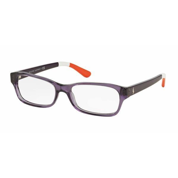 Polo Womens PH2147 5575 Purple/Reddish Plastic Rectangle Eyeglasses