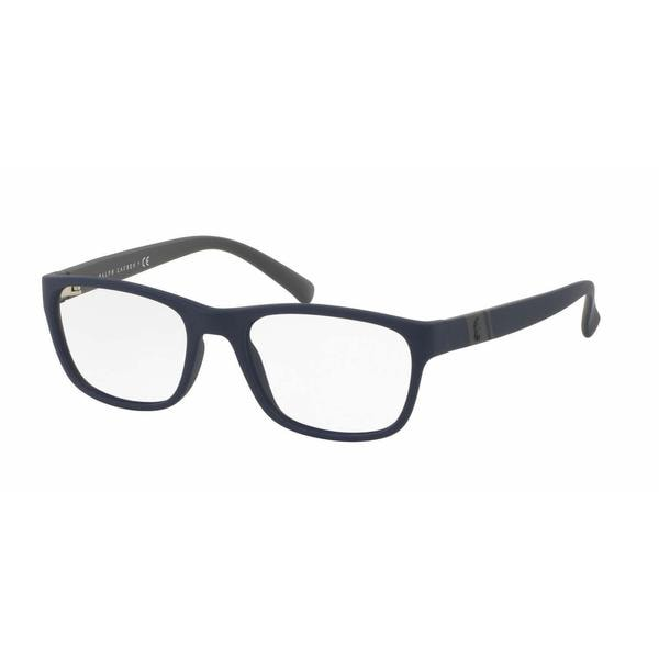 Polo Mens PH2153 5590 Blue Plastic Square Eyeglasses
