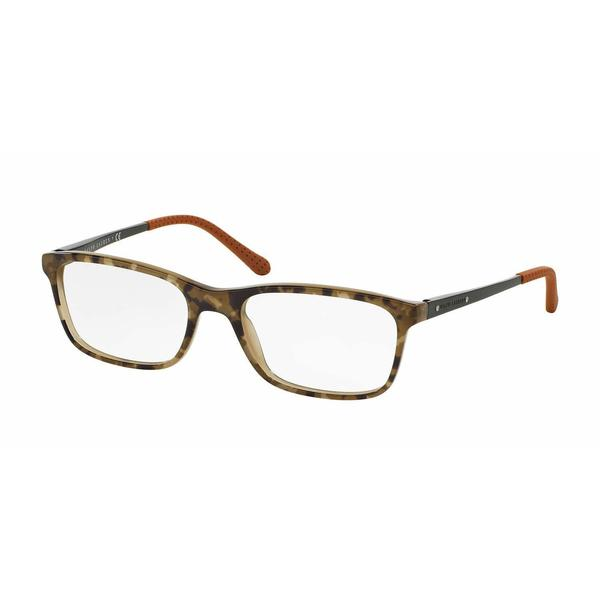 Ralph Lauren Mens RL6134 5427 Multi Plastic Rectangle Eyeglasses