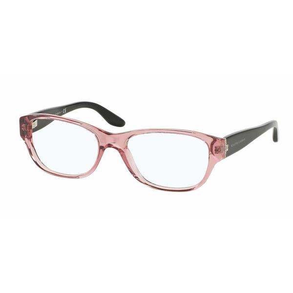 Ralph Lauren Womens RL6126B 5220 Pink Plastic Square Eyeglasses