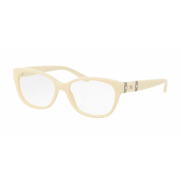 Ralph Lauren Womens RL6146B 5598 Ivory Plastic Square Eyeglasses