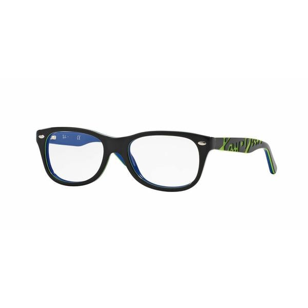Ray Ban Unisex RY1544 3600 Grey Plastic Rectangle Eyeglasses 22553363