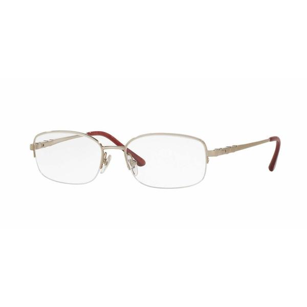 Sferoflex Womens SF2579 491 Silver Metal Oval Eyeglasses