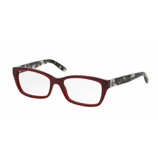 Tory Burch Womens TY2049 1361 Purple/Reddish Plastic Rectangle Eyeglasses 22553417